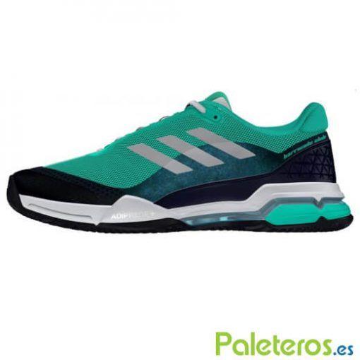Zapatillas Adidas Barricade Club Clay verde