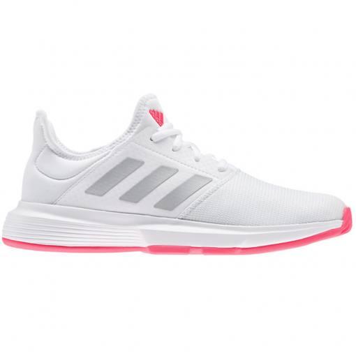 Zapatillas Adidas Gamecourt Woman Blancas