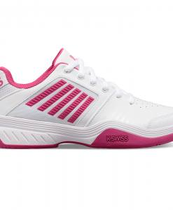 Zapatillas K-Swiss Court Express blanca-rosa
