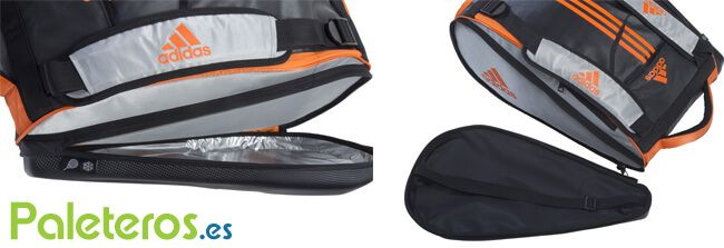 Compartimentos para palas paletero Adipower Orange