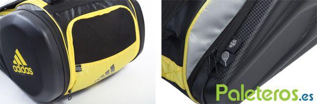 Compartimentos paletero Adidas Adipower amarillo