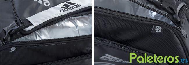 Detalles del paletero Adidas Carbon 2018