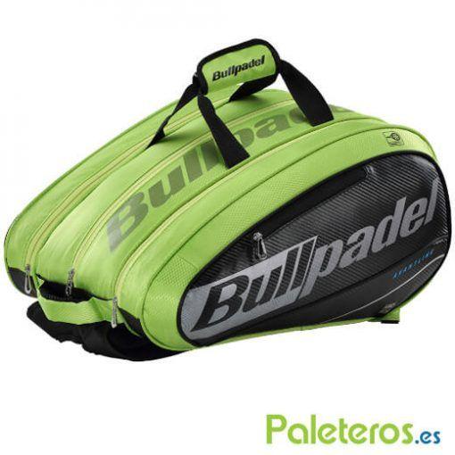 Paletero Bullpadel Mid Capacity verde lima