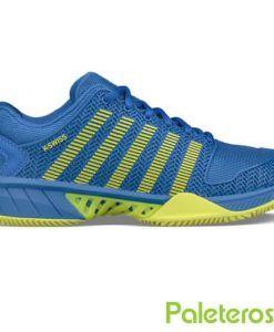 Zapatillas K-Swiss Hypercourt Express azul-lima