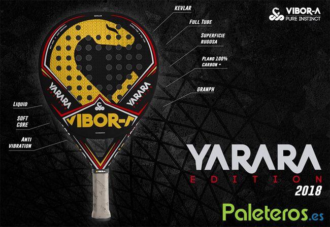Características Yarara Edition 2018 Vibora