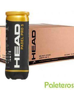 Cajón bolas HEAD Padel Pro S