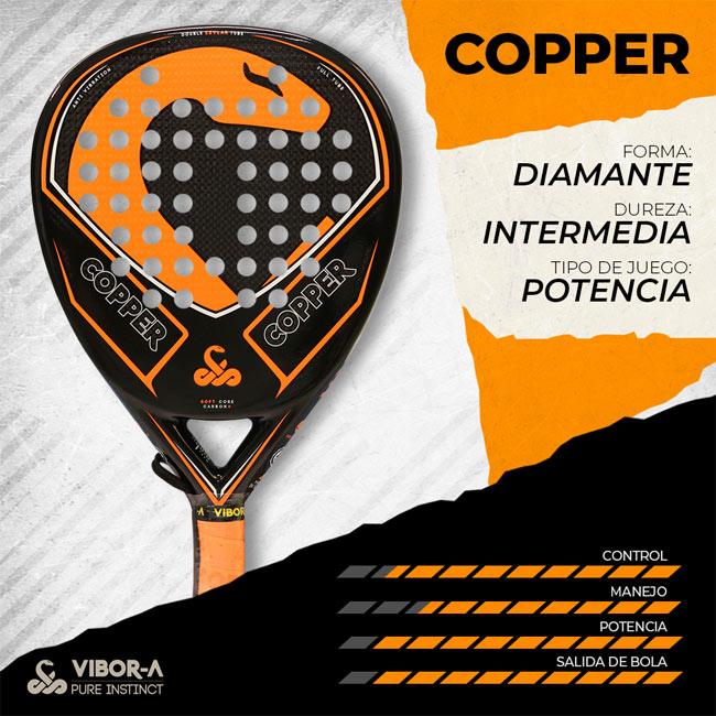 Características pala Copper 2019