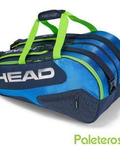 Paletero HEAD Elite azul y verde 2018