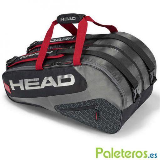 Paletero HEAD Elite negro y rojo