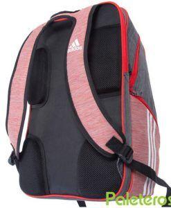Espalda acolchada mochila Supernova roja de Adidas