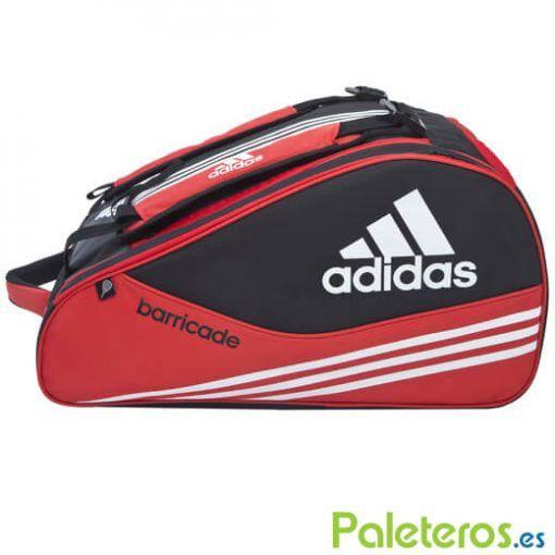 Paletero Barricade rojo-negro de Adidas