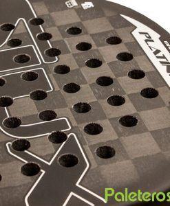 Plano Carbono 24K pala Platinum Luxury Siux