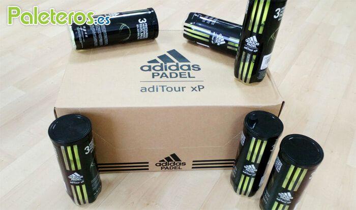 adiTour xP pelotas de pádel Adidas