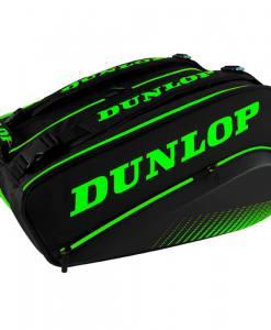 Paletero Dunlop Elite negro y verde