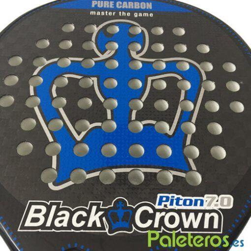 Plano rugoso pala Piton 7 de Black Crown