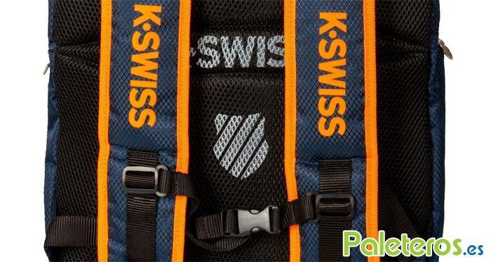 Detalle mochila Aero K-Swiss