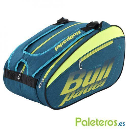 Paletero Bullpadel Fun Verde-Azulado
