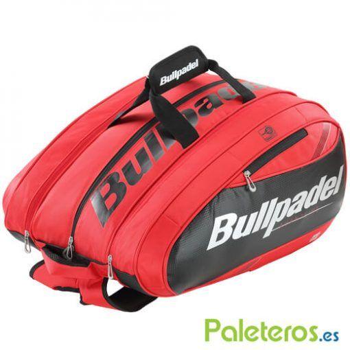 Paletero Bullpadel Mid Capacity Rojo