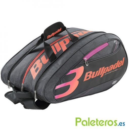 Paletero Bullpadel Mid Capacity Rosa