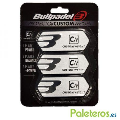 Protector Custom Weight Bullpadel Plata