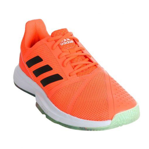 Zapatillas Adidas Courtjam Bounce Naranjas 20