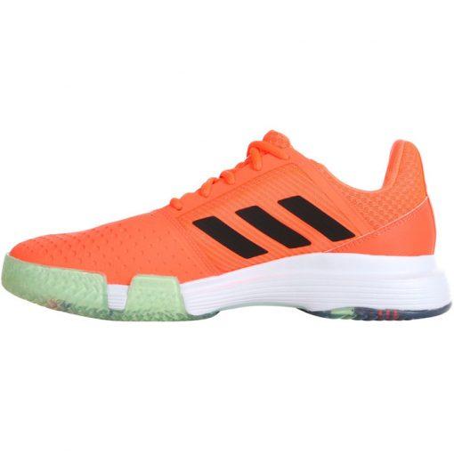 Zapatillas Adidas Courtjam Bounce Naranjas 2020