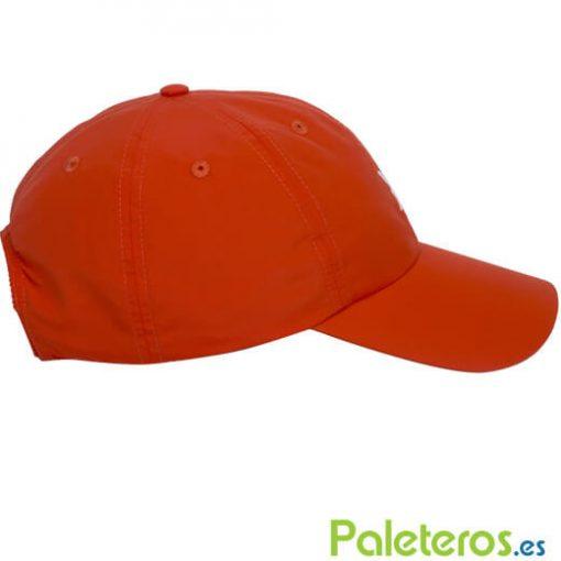 Gorra roja-blanca NOX