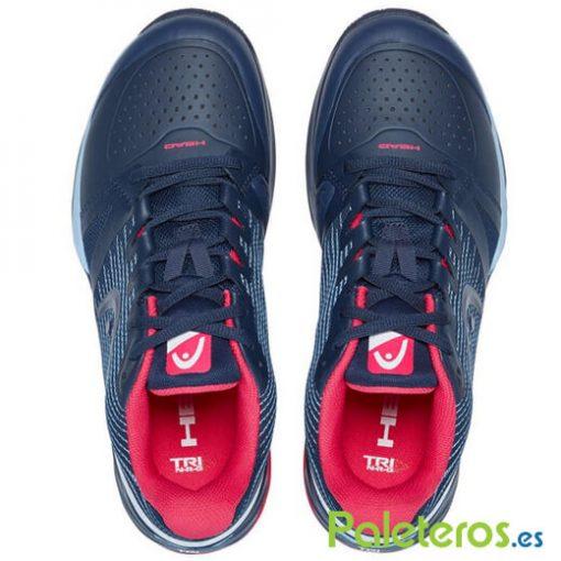 Head Sprint Pro Red Women Zapatillas