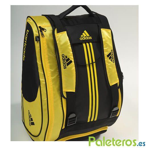 6b51c7af0 Paletero Adidas Barricade 1.9 Yellow - Paleteros.es