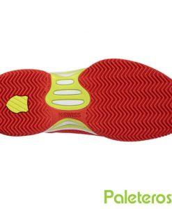 Suela espiga HB zapatillas Express Light rojas-amarillas
