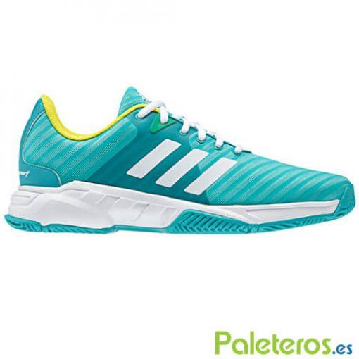 Zapatillas Adidas Barricade Court verde
