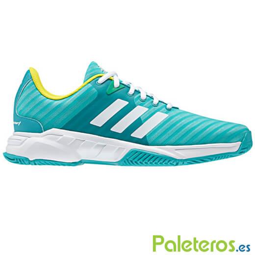 Zapatillas Adidas Barricade Court 3 Verdes