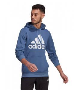 Sudadera Adidas Big Logo Azul