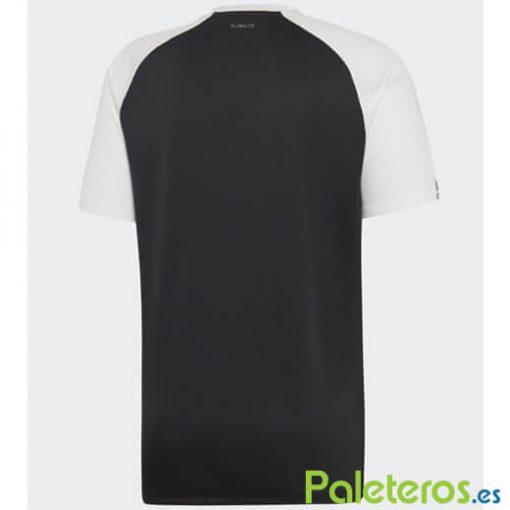 Adidas Club Negra-Blanca Camiseta