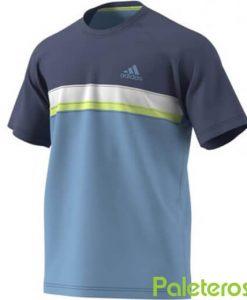 Camiseta Adidas Club Azul-Lima