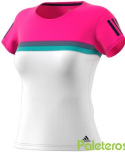 Camiseta Adidas Club Mujer Rosa