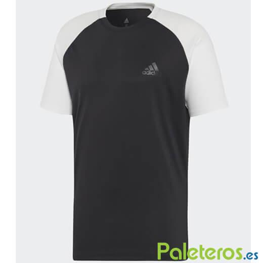 esposas querido Nabo  Camiseta Técnica Adidas Club Negra - Paleteros.es