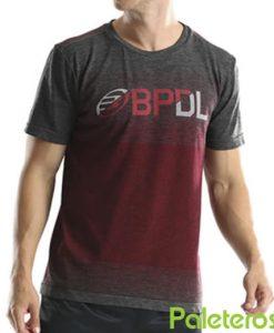Camiseta Bullpadel Gerete Rojo Vigore