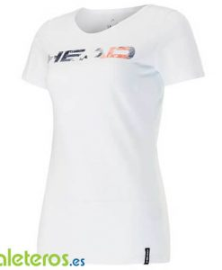 Camiseta Head Transition Eva Blanca Mujer
