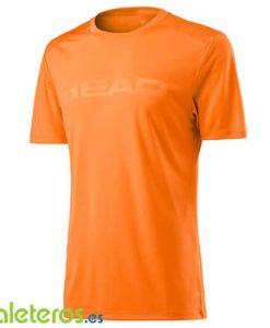 Camiseta Head Vision Corpo Naranja