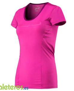 Camiseta Head Vision Corpo Rosa Mujer