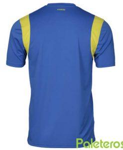 Camiseta K-Swiss Henley Crew Azul