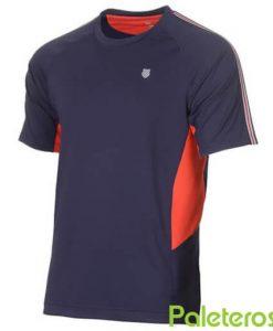 Camiseta K-Swiss Heritage Azul