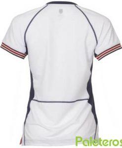 Camiseta KSwiss Heritage Mujer Blanca