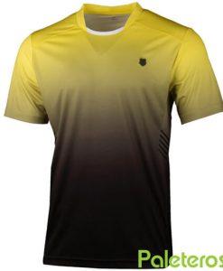 Camiseta K-Swiss Hypercourt Express Amarilla