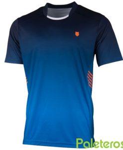 Camiseta K-Swiss Hypercourt Express Azul