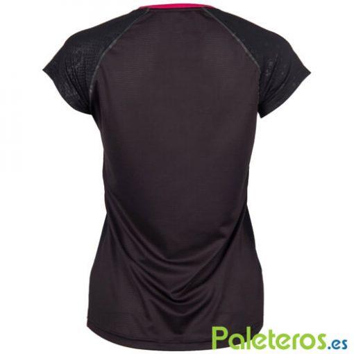 Camiseta KSwiss Hypercourt Express Negra Mujer
