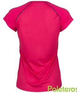 Camiseta KSwiss Hypercourt Express Rosa Mujer