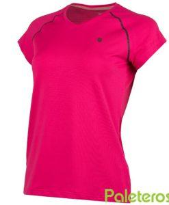 Camiseta K-Swiss Hypercourt Rosa Mujer