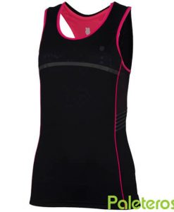 Camiseta Tirantes K-Swiss Hypercourt Speed Negra